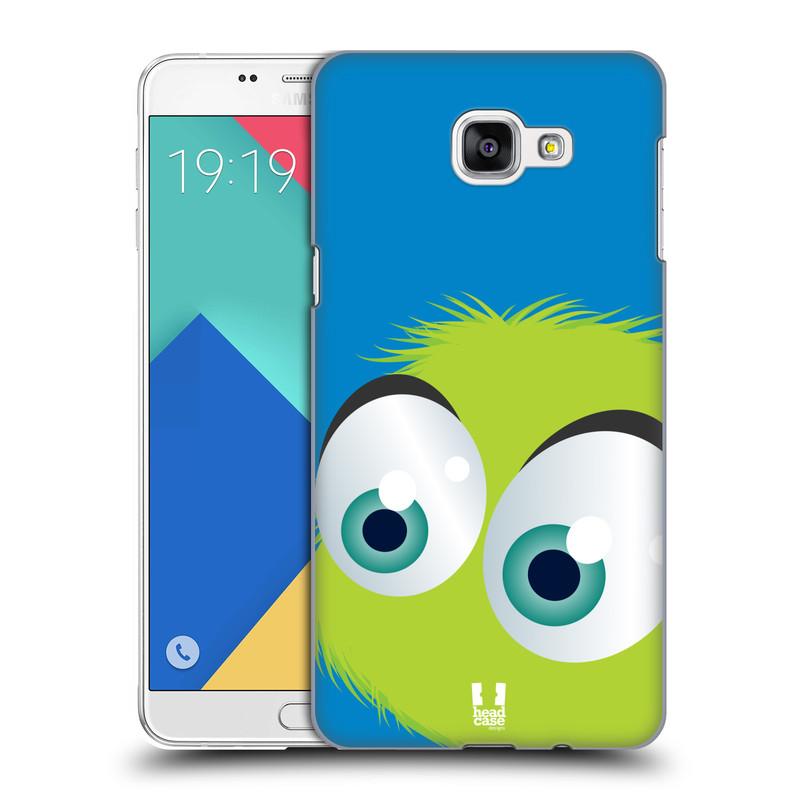 Plastové pouzdro na mobil Samsung Galaxy A9 HEAD CASE FUZÍK ZELENÝ (Kryt či obal na mobilní telefon Samsung Galaxy A9 (2016) SM-A900)