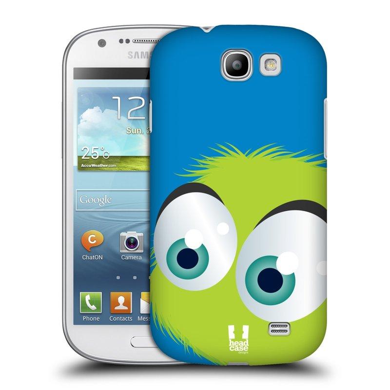 Plastové pouzdro na mobil Samsung Galaxy Express HEAD CASE FUZÍK ZELENÝ (Kryt či obal na mobilní telefon Samsung Galaxy Express GT-i8730)