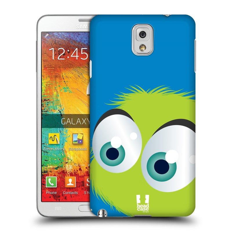 Plastové pouzdro na mobil Samsung Galaxy Note 3 HEAD CASE FUZÍK ZELENÝ (Kryt či obal na mobilní telefon Samsung Galaxy Note 3 SM-N9005)