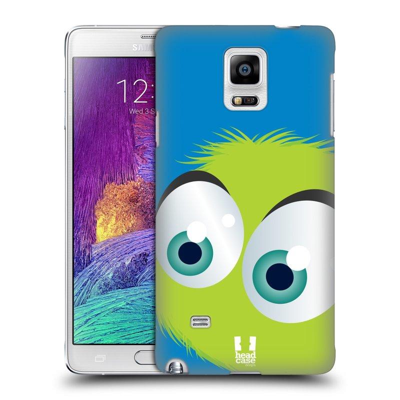 Plastové pouzdro na mobil Samsung Galaxy Note 4 HEAD CASE FUZÍK ZELENÝ (Kryt či obal na mobilní telefon Samsung Galaxy Note 4 SM-N910F)