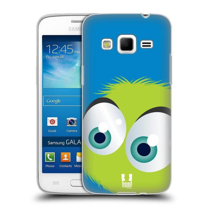 Silikonové pouzdro na mobil Samsung Galaxy Express 2 HEAD CASE FUZÍK ZELENÝ (Silikonový kryt či obal na mobilní telefon Samsung Galaxy Express 2 SM-G3815)