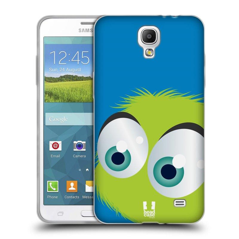 Silikonové pouzdro na mobil Samsung Galaxy Grand Mega 2 HEAD CASE FUZÍK ZELENÝ (Silikonový kryt či obal na mobilní telefon Samsung Galaxy Grand Mega 2 SM-G750)