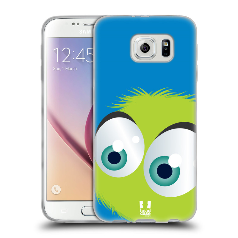 Silikonové pouzdro na mobil Samsung Galaxy S6 HEAD CASE FUZÍK ZELENÝ (Silikonový kryt či obal na mobilní telefon Samsung Galaxy S6 SM-G920F)