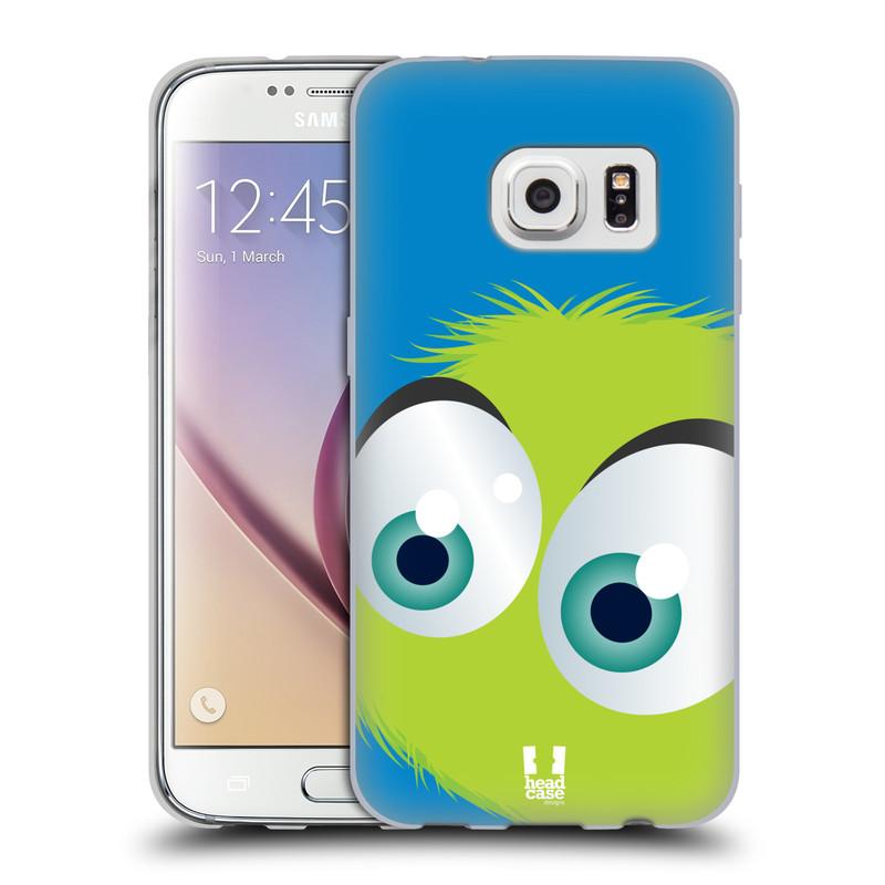 Silikonové pouzdro na mobil Samsung Galaxy S7 HEAD CASE FUZÍK ZELENÝ (Silikonový kryt či obal na mobilní telefon Samsung Galaxy S7 SM-G930F)