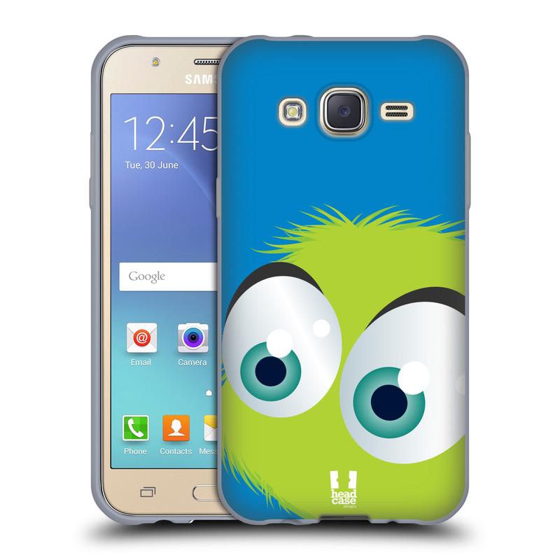 Silikonové pouzdro na mobil Samsung Galaxy J5 HEAD CASE FUZÍK ZELENÝ (Silikonový kryt či obal na mobilní telefon Samsung Galaxy Samsung Galaxy J5 SM-J500)