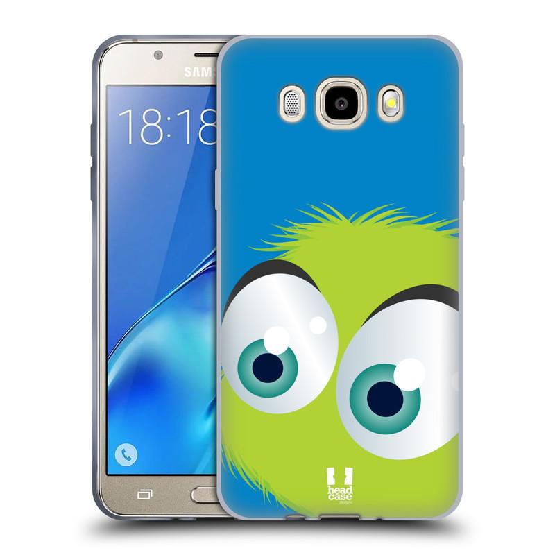 Silikonové pouzdro na mobil Samsung Galaxy J5 (2016) HEAD CASE FUZÍK ZELENÝ (Silikonový kryt či obal na mobilní telefon Samsung Galaxy J5 (2016) SM-J510)