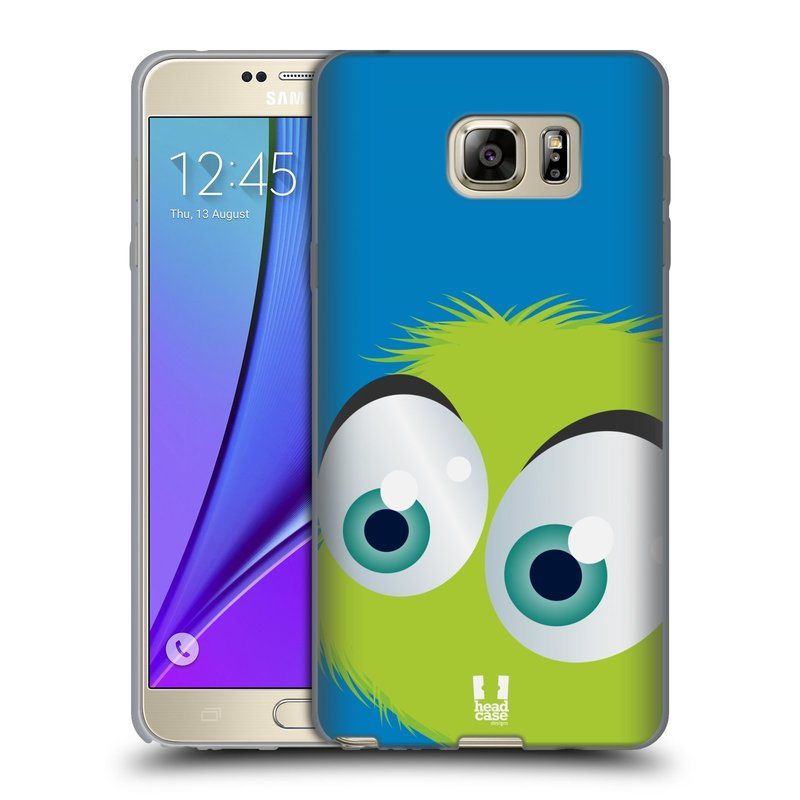 Silikonové pouzdro na mobil Samsung Galaxy Note 5 HEAD CASE FUZÍK ZELENÝ (Silikonový kryt či obal na mobilní telefon Samsung Galaxy Note 5 SM-N920)