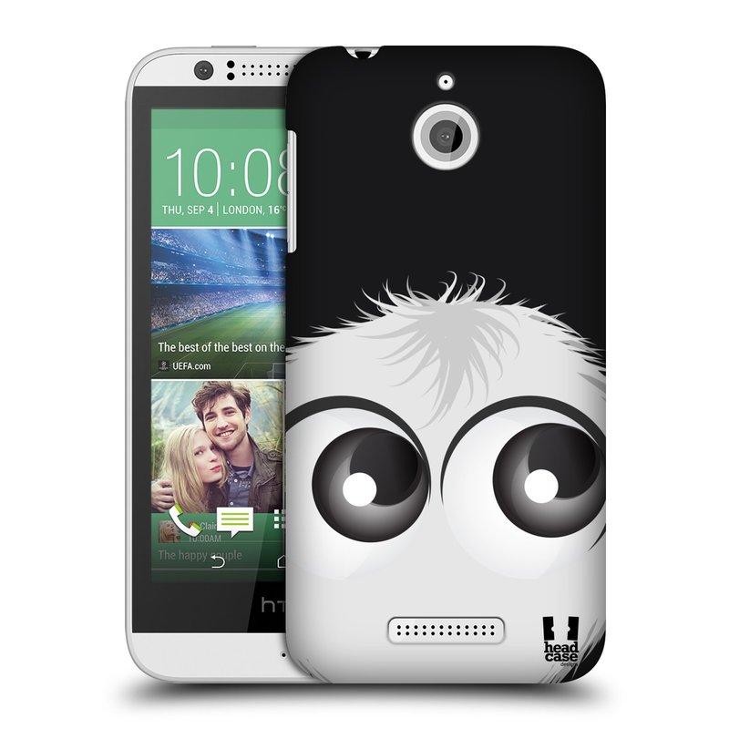 Plastové pouzdro na mobil HTC Desire 510 HEAD CASE FUZÍK BÍLÝ (Kryt či obal na mobilní telefon HTC Desire 510)