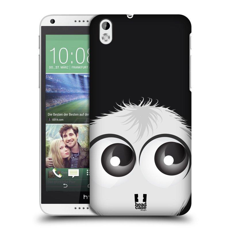 Plastové pouzdro na mobil HTC Desire 816 HEAD CASE FUZÍK BÍLÝ (Kryt či obal na mobilní telefon HTC Desire 816)