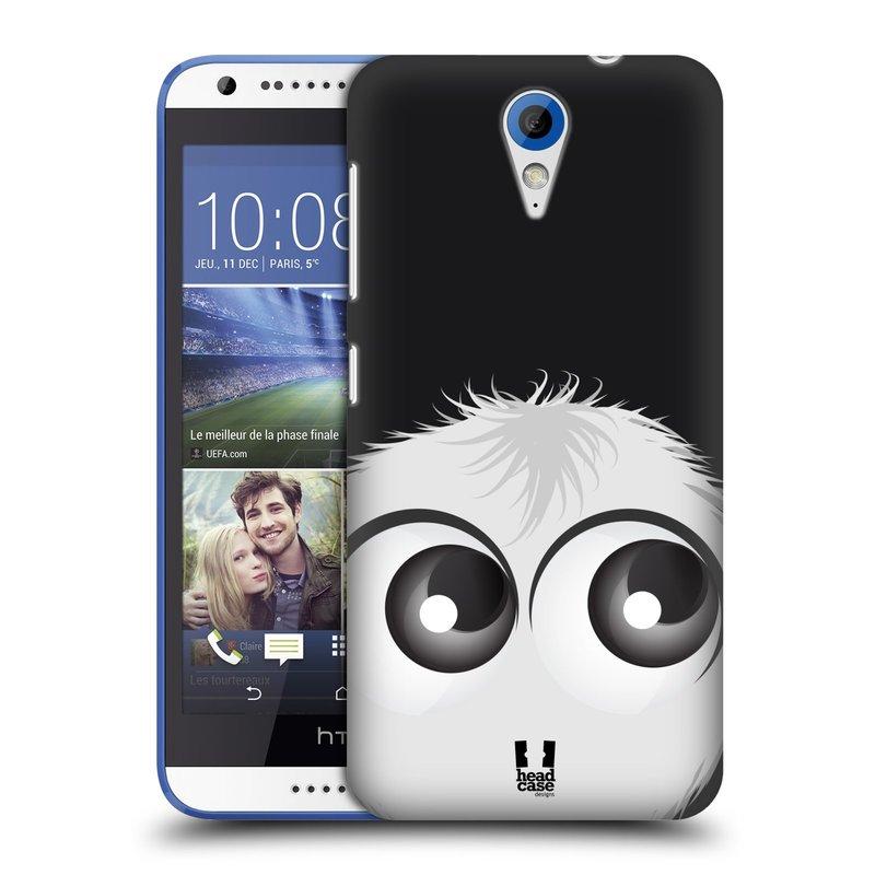 Plastové pouzdro na mobil HTC Desire 620 HEAD CASE FUZÍK BÍLÝ (Kryt či obal na mobilní telefon HTC Desire 620)