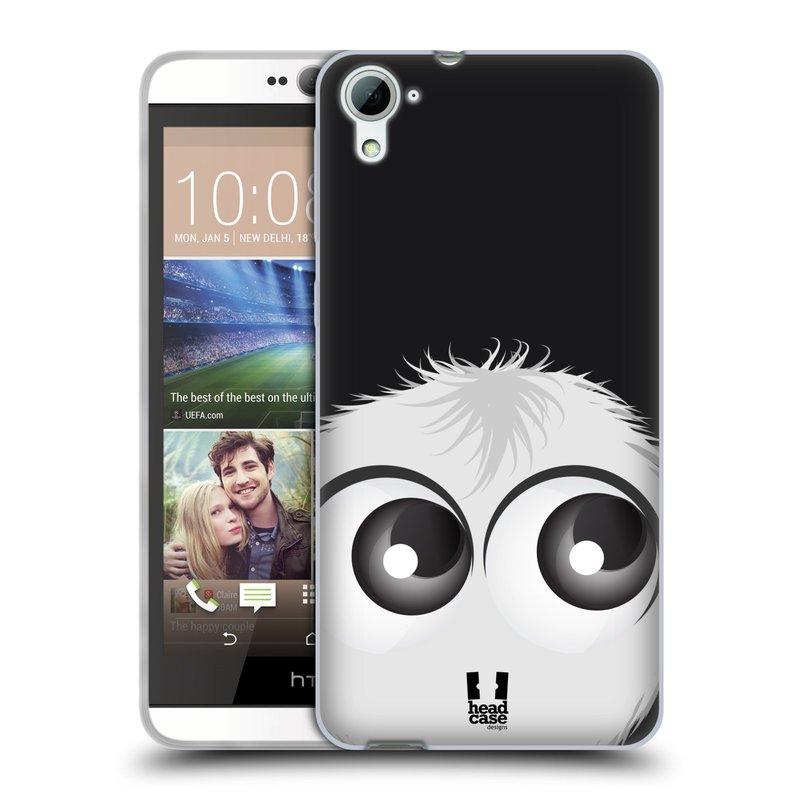 Silikonové pouzdro na mobil HTC Desire 826 HEAD CASE FUZÍK BÍLÝ (Silikonový kryt či obal na mobilní telefon HTC Desire 826 Dual SIM)