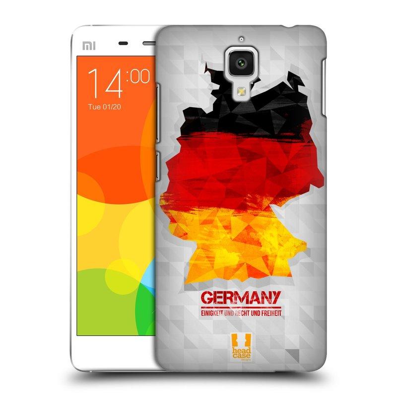 Plastové pouzdro na mobil Doogee Hitman DG850 HEAD CASE GEOMAPA NĚMECKO (Kryt či obal na mobilní telefon Doogee Hitman DG850)
