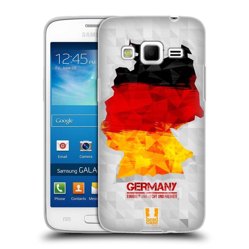 Silikonové pouzdro na mobil Samsung Galaxy Express 2 HEAD CASE GEOMAPA NĚMECKO (Silikonový kryt či obal na mobilní telefon Samsung Galaxy Express 2 SM-G3815)