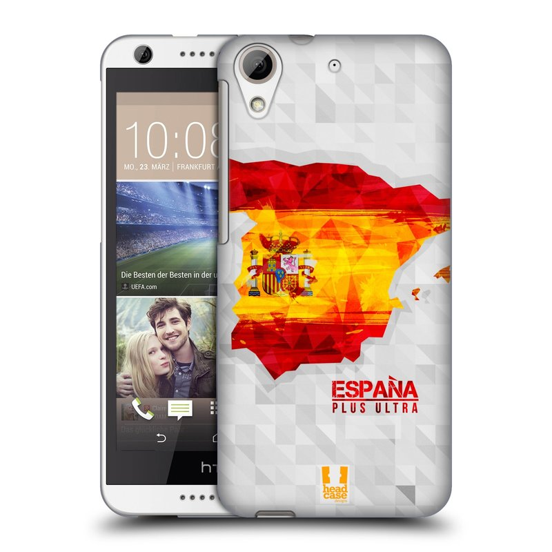 Plastové pouzdro na mobil HTC Desire 626 / 626G HEAD CASE GEOMAPA ŠPANĚLSKO (Kryt či obal na mobilní telefon HTC Desire 626G Dual SIM a HTC Desire 626)