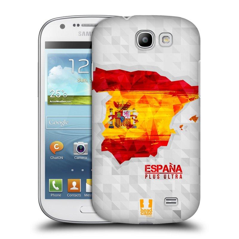 Plastové pouzdro na mobil Samsung Galaxy Express HEAD CASE GEOMAPA ŠPANĚLSKO (Kryt či obal na mobilní telefon Samsung Galaxy Express GT-i8730)