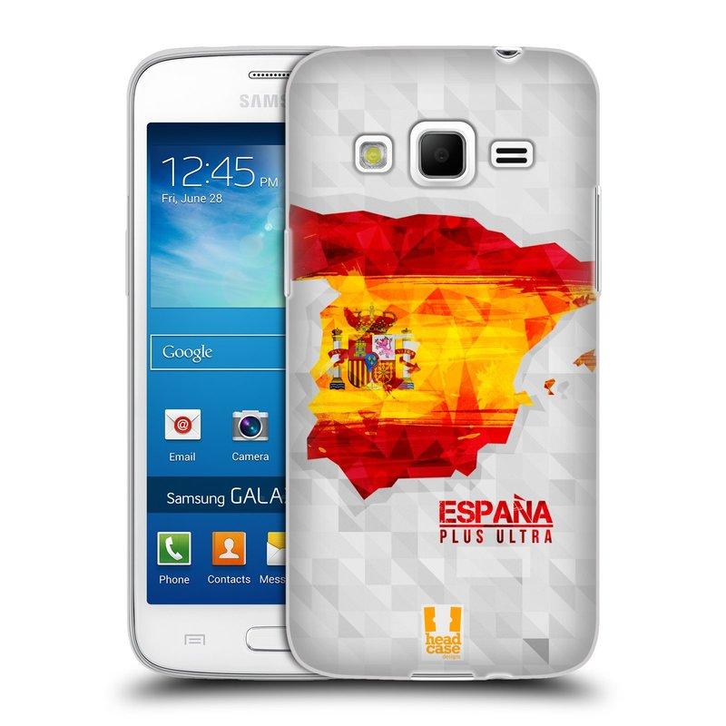 Silikonové pouzdro na mobil Samsung Galaxy Express 2 HEAD CASE GEOMAPA ŠPANĚLSKO (Silikonový kryt či obal na mobilní telefon Samsung Galaxy Express 2 SM-G3815)