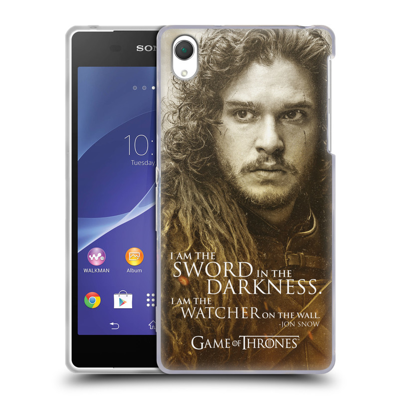 Silikonové pouzdro na mobil Sony Xperia Z2 D6503 HEAD CASE Hra o trůny - Jon Snow (Silikonový kryt či obal na mobilní telefon s licencovaným motivem Hra o trůny - Game Of Thrones pro Sony Xperia Z2)