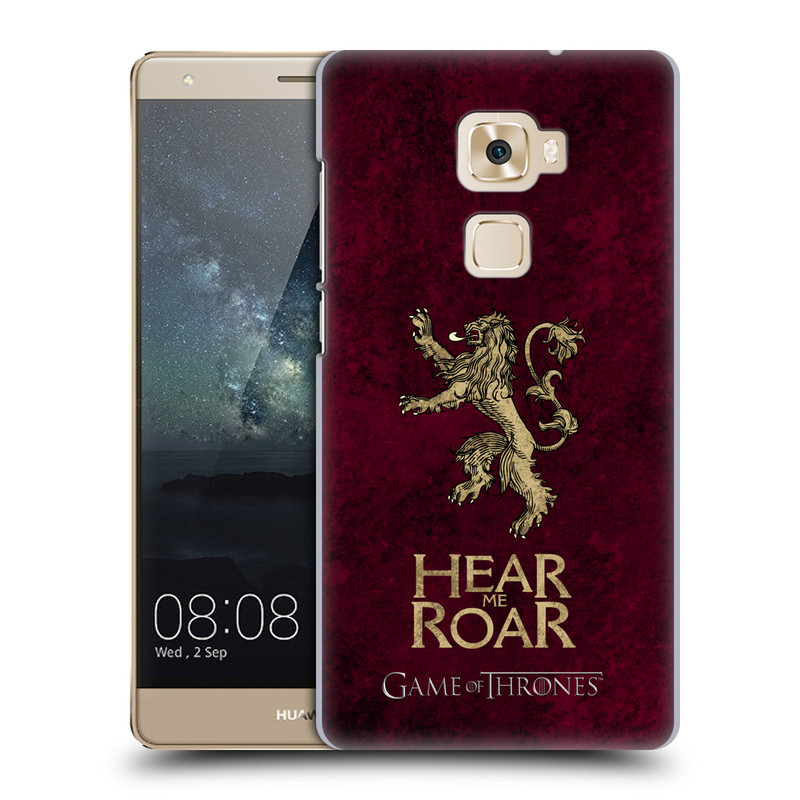 Plastové pouzdro na mobil Huawei Mate S HEAD CASE Hra o trůny - Sigils Lannister - Hear Me Roar (Plastový kryt či obal na mobilní telefon s licencovaným motivem Hra o trůny - Game Of Thrones pro Huawei Mate S)