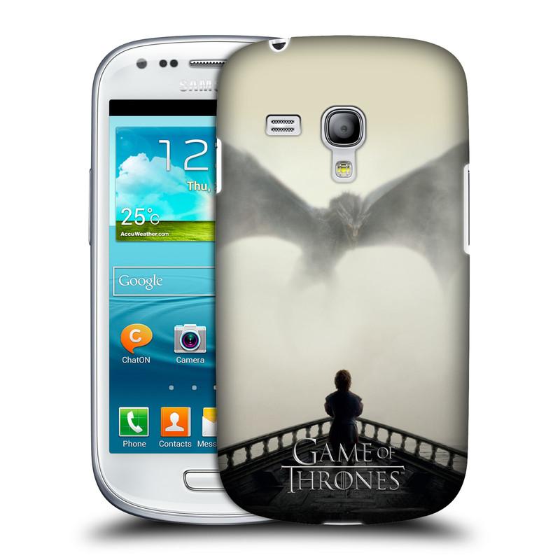 Plastové pouzdro na mobil Samsung Galaxy S III Mini VE HEAD CASE Hra o trůny - Vengeance (Kryt či obal na mobilní telefon s licencovaným motivem Hra o trůny / Game Of Thrones pro Samsung Galaxy S3 Mini VE GT-i8200)