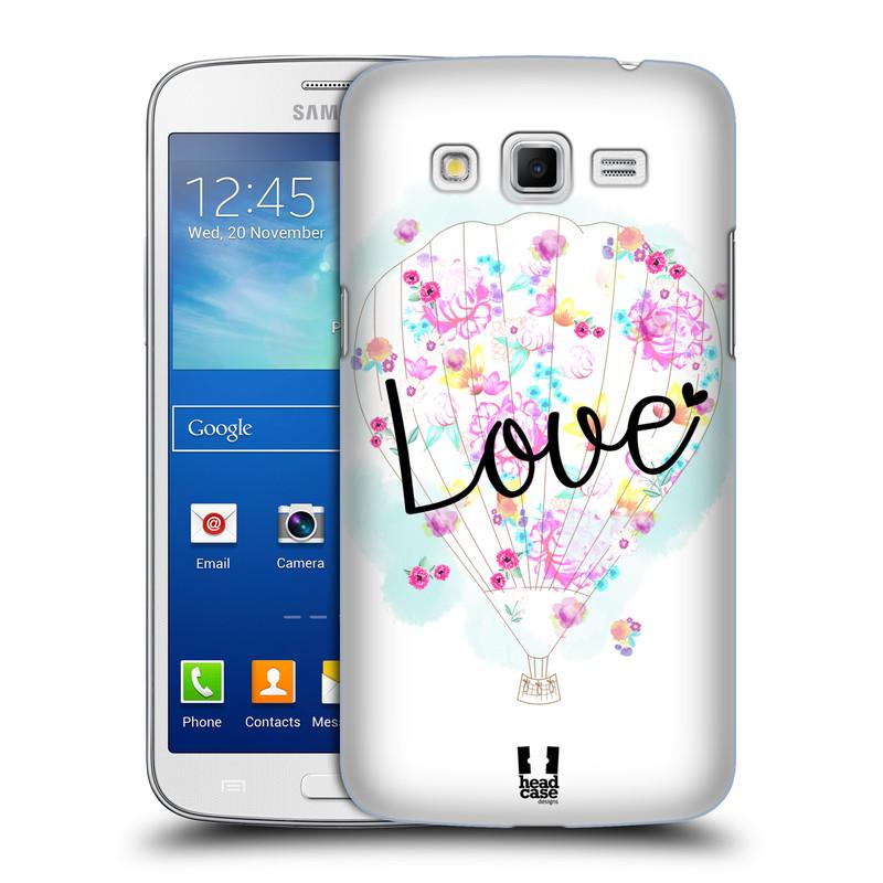 Plastové pouzdro na mobil Samsung Galaxy Grand 2 HEAD CASE Balón Love (Plastový kryt či obal na mobilní telefon Samsung Galaxy Grand 2 LTE SM-G7105F a Samsung Galaxy Grand 2 Duos SM-G7102F)
