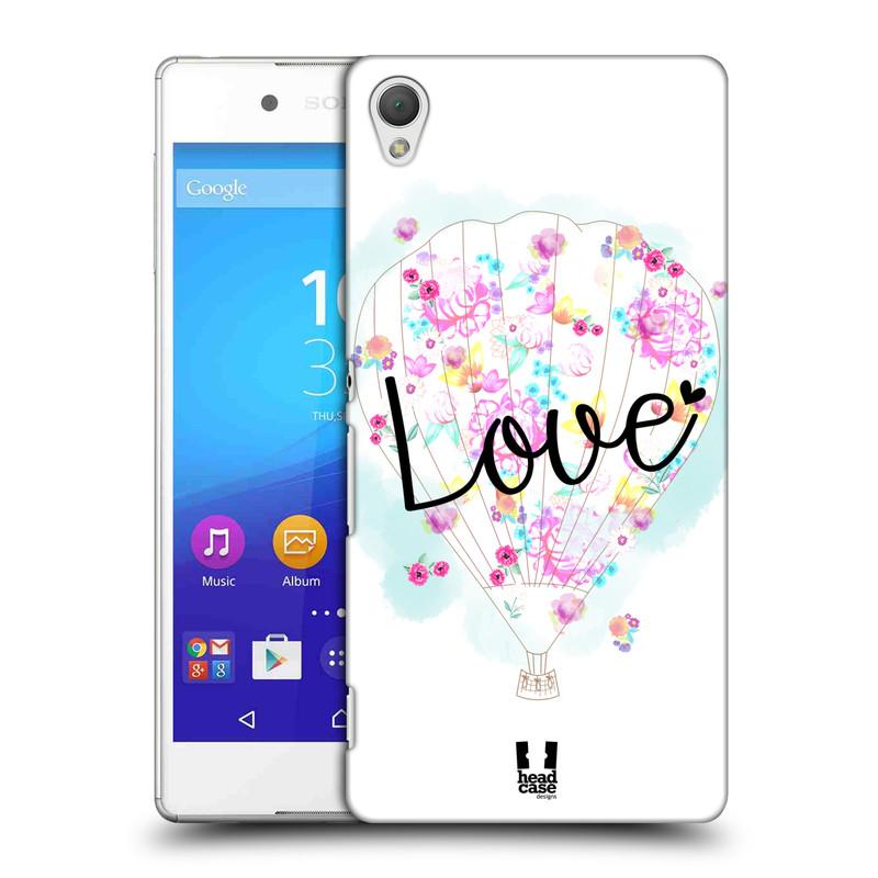 Plastové pouzdro na mobil Sony Xperia Z3+ (Plus) HEAD CASE Balón Love (Plastový kryt či obal na mobilní telefon Sony Xperia Z3+ a Sony Xperia Z4 )