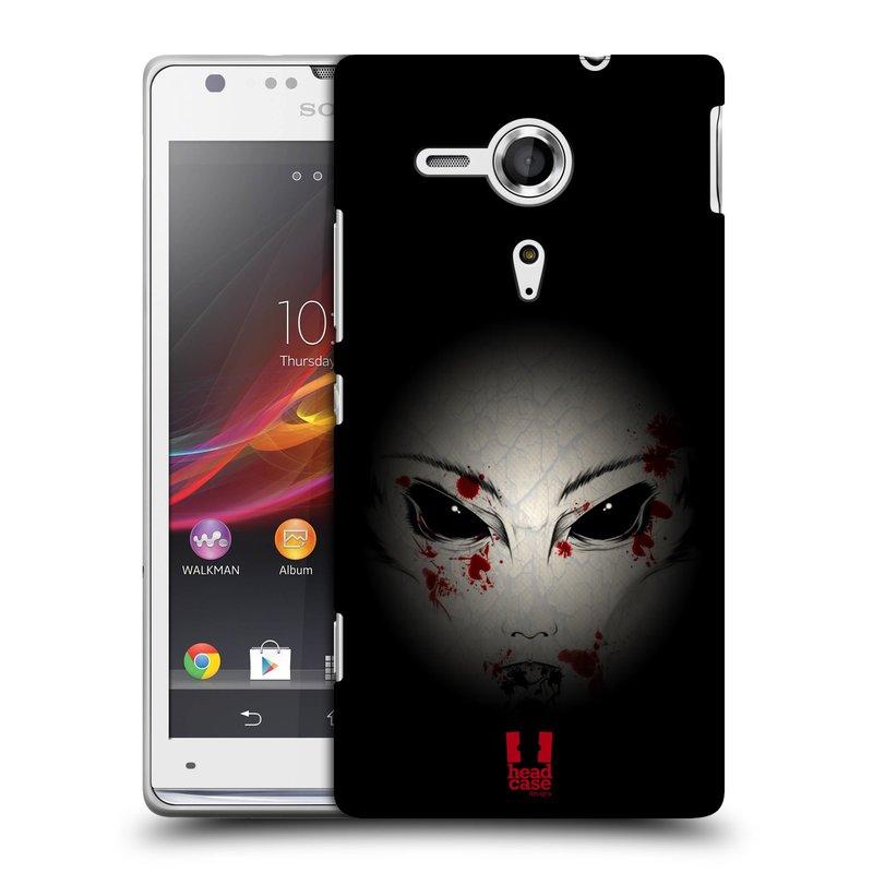 Plastové pouzdro na mobil Sony Xperia SP C5303 HEAD CASE Macabre (Kryt či obal na mobilní telefon Sony Xperia SP )