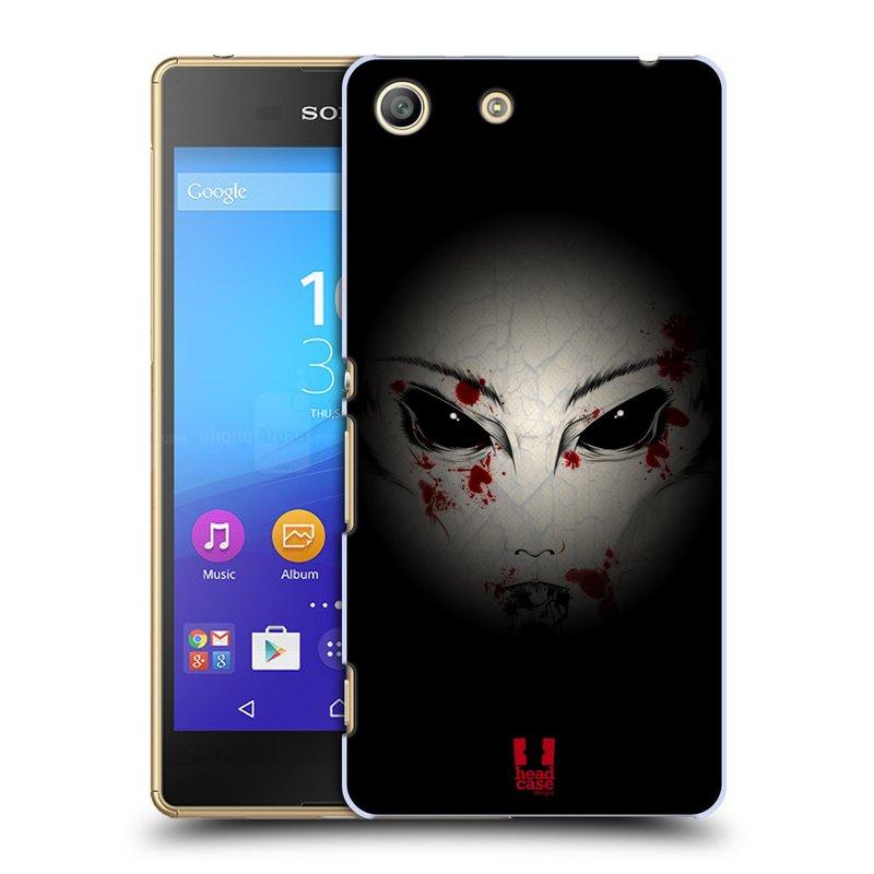 Plastové pouzdro na mobil Sony Xperia M5 HEAD CASE Macabre (Kryt či obal na mobilní telefon Sony Xperia M5 Aqua)