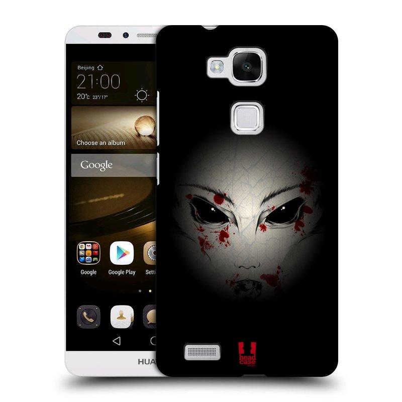 Plastové pouzdro na mobil Huawei Ascend Mate 7 HEAD CASE Macabre (Kryt či obal na mobilní telefon Huawei Ascend Mate7)