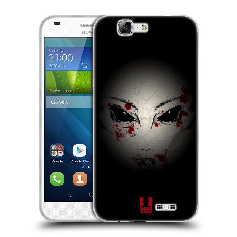 Silikonové pouzdro na mobil Huawei Ascend G7 HEAD CASE Macabre (Silikonový kryt či obal na mobilní telefon Huawei Ascend G7)