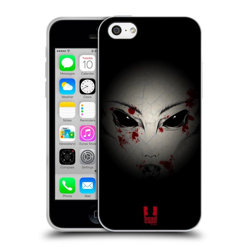 Silikonové pouzdro na mobil Apple iPhone 5C HEAD CASE Macabre (Silikonový kryt či obal na mobilní telefon Apple iPhone 5C)