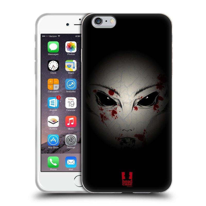 Silikonové pouzdro na mobil Apple iPhone 6 Plus a 6S Plus HEAD CASE Macabre (Silikonový kryt či obal na mobilní telefon Apple iPhone 6 Plus a 6S Plus)