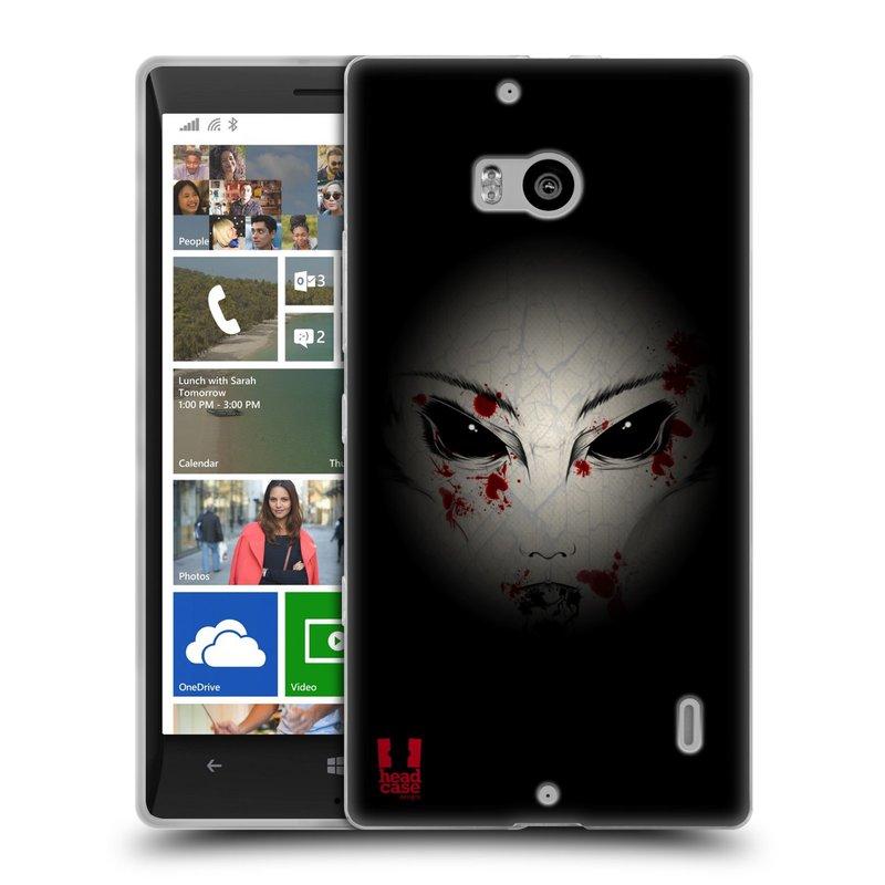 Silikonové pouzdro na mobil Nokia Lumia 930 HEAD CASE Macabre (Silikonový kryt či obal na mobilní telefon Nokia Lumia 930)