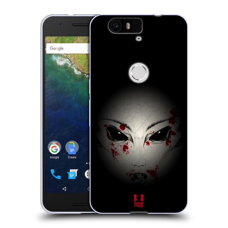 Silikonové pouzdro na mobil Huawei Nexus 6P HEAD CASE Macabre (Silikonový kryt či obal na mobilní telefon Huawei Nexus 6P)