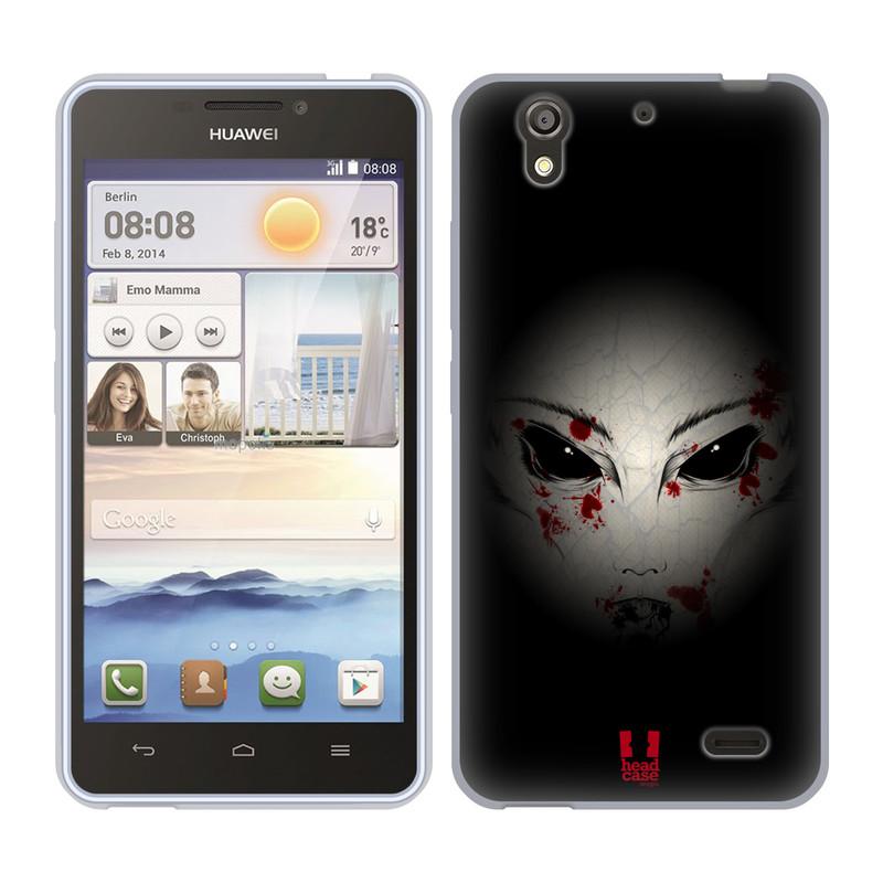 Silikonové pouzdro na mobil Huawei Ascend Y530 HEAD CASE Macabre (Silikonový kryt či obal na mobilní telefon Huawei Ascend Y530)