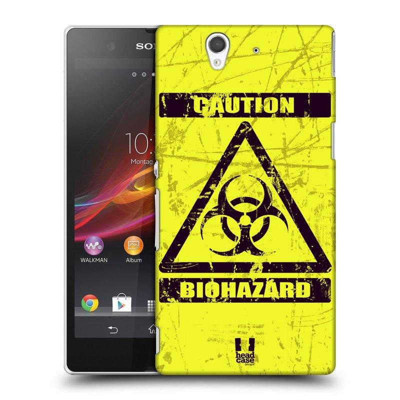 Plastové pouzdro na mobil Sony Xperia Z C6603 HEAD CASE BIOHAZARD (Kryt či obal na mobilní telefon Sony Xperia Z )
