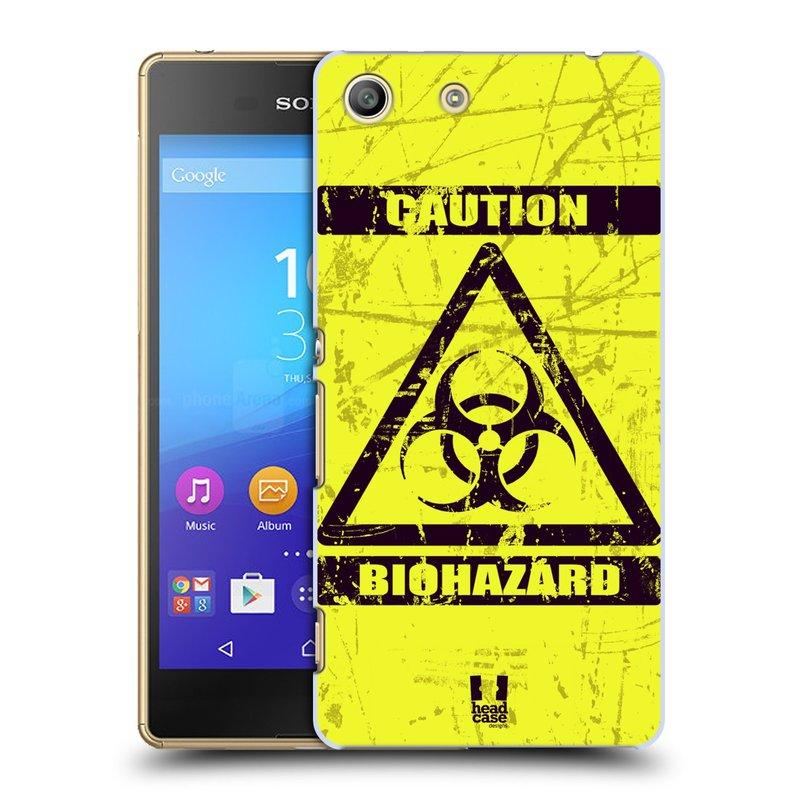 Plastové pouzdro na mobil Sony Xperia M5 HEAD CASE BIOHAZARD (Kryt či obal na mobilní telefon Sony Xperia M5 Aqua)