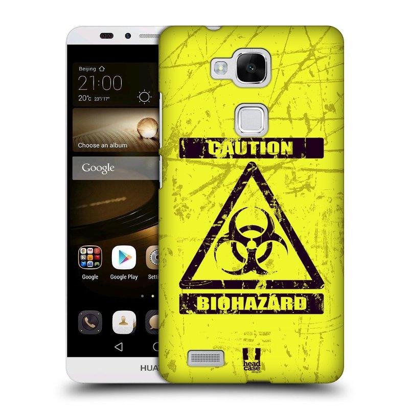 Plastové pouzdro na mobil Huawei Ascend Mate 7 HEAD CASE BIOHAZARD (Kryt či obal na mobilní telefon Huawei Ascend Mate7)