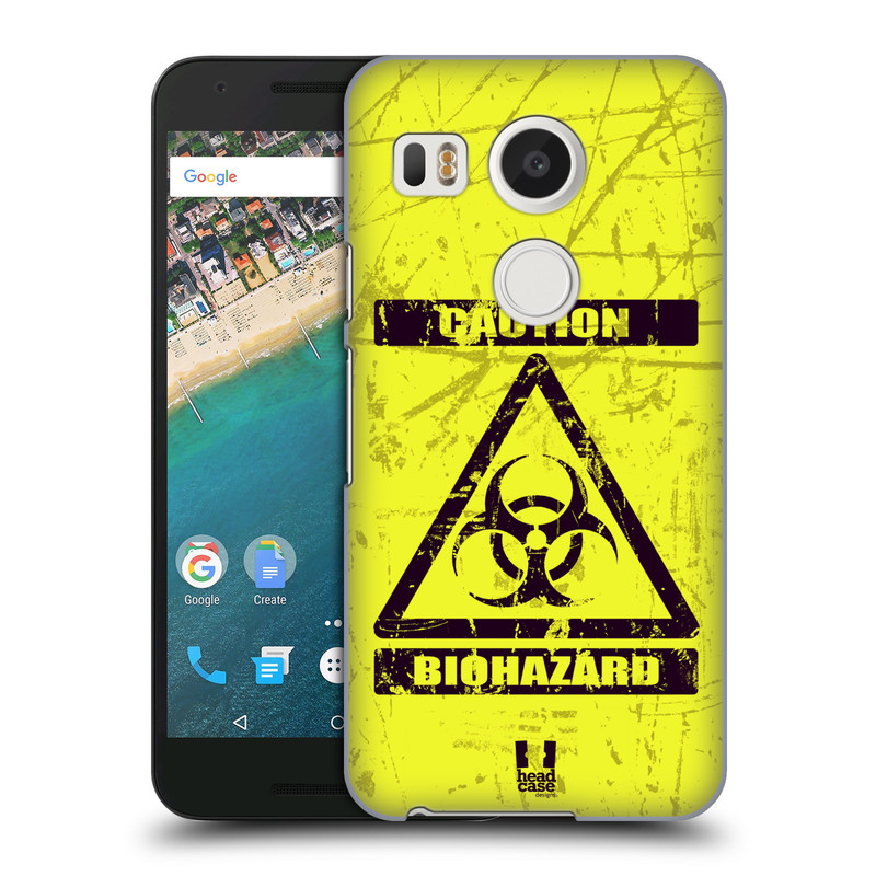 Plastové pouzdro na mobil LG Nexus 5X HEAD CASE BIOHAZARD (Kryt či obal na mobilní telefon LG NEXUS 5X H791)
