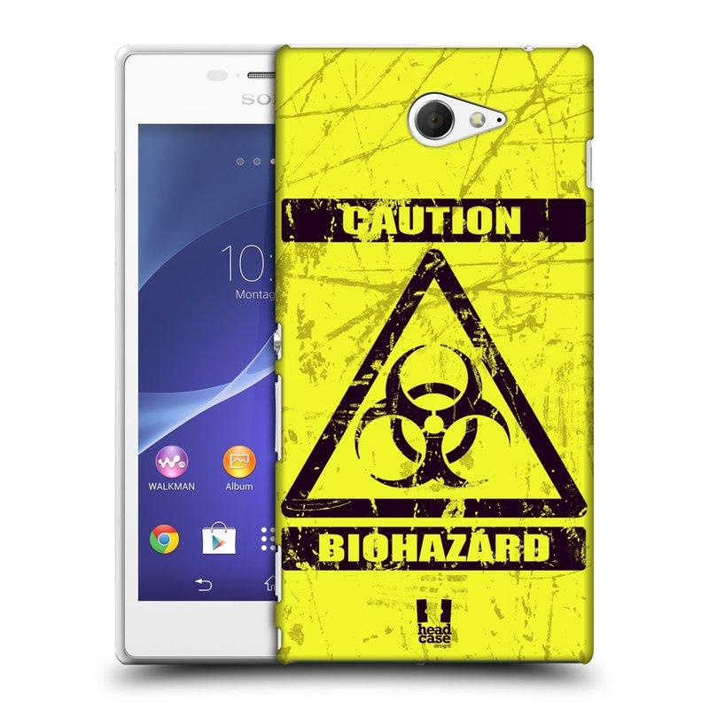 Plastové pouzdro na mobil Sony Xperia M2 D2303 HEAD CASE BIOHAZARD (Kryt či obal na mobilní telefon Sony Xperia M2 )