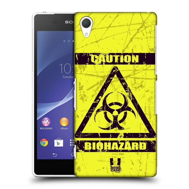 Plastové pouzdro na mobil Sony Xperia Z2 D6503 HEAD CASE BIOHAZARD (Kryt či obal na mobilní telefon Sony Xperia Z2 )