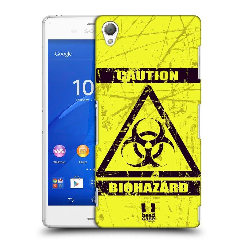 Plastové pouzdro na mobil Sony Xperia Z3 D6603 HEAD CASE BIOHAZARD (Kryt či obal na mobilní telefon Sony Xperia Z3 )