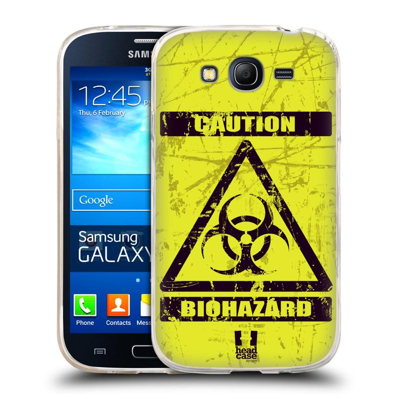 Silikonové pouzdro na mobil Samsung Galaxy Grand Neo Plus HEAD CASE BIOHAZARD (Silikonový kryt či obal na mobilní telefon Samsung Galaxy Grand Neo Plus Duos GT-I9060i)