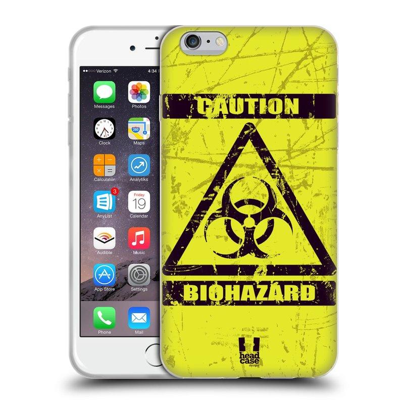 Silikonové pouzdro na mobil Apple iPhone 6 Plus a 6S Plus HEAD CASE BIOHAZARD (Silikonový kryt či obal na mobilní telefon Apple iPhone 6 Plus a 6S Plus)