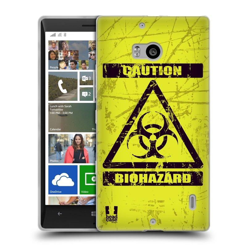 Silikonové pouzdro na mobil Nokia Lumia 930 HEAD CASE BIOHAZARD (Silikonový kryt či obal na mobilní telefon Nokia Lumia 930)
