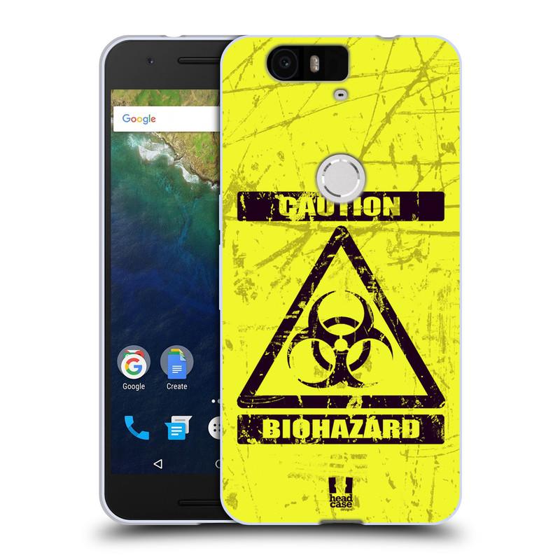 Silikonové pouzdro na mobil Huawei Nexus 6P HEAD CASE BIOHAZARD (Silikonový kryt či obal na mobilní telefon Huawei Nexus 6P)