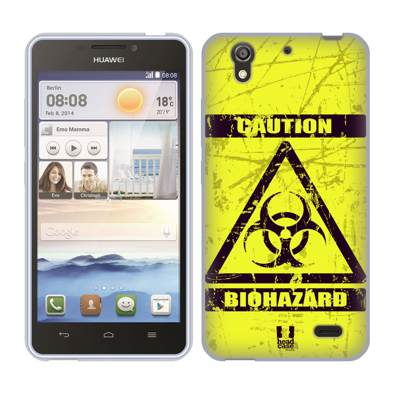 Silikonové pouzdro na mobil Huawei Ascend Y530 HEAD CASE BIOHAZARD (Silikonový kryt či obal na mobilní telefon Huawei Ascend Y530)