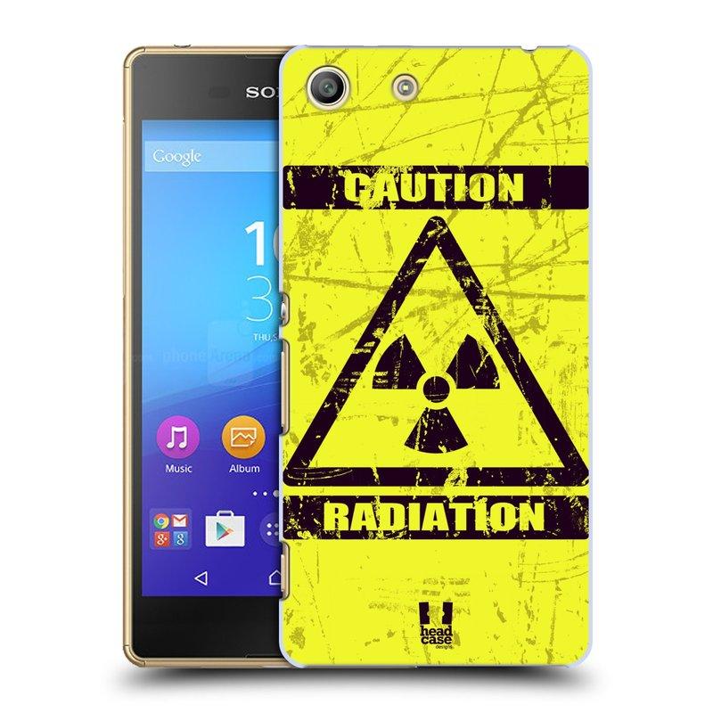 Plastové pouzdro na mobil Sony Xperia M5 HEAD CASE RADIACE (Kryt či obal na mobilní telefon Sony Xperia M5 Aqua)