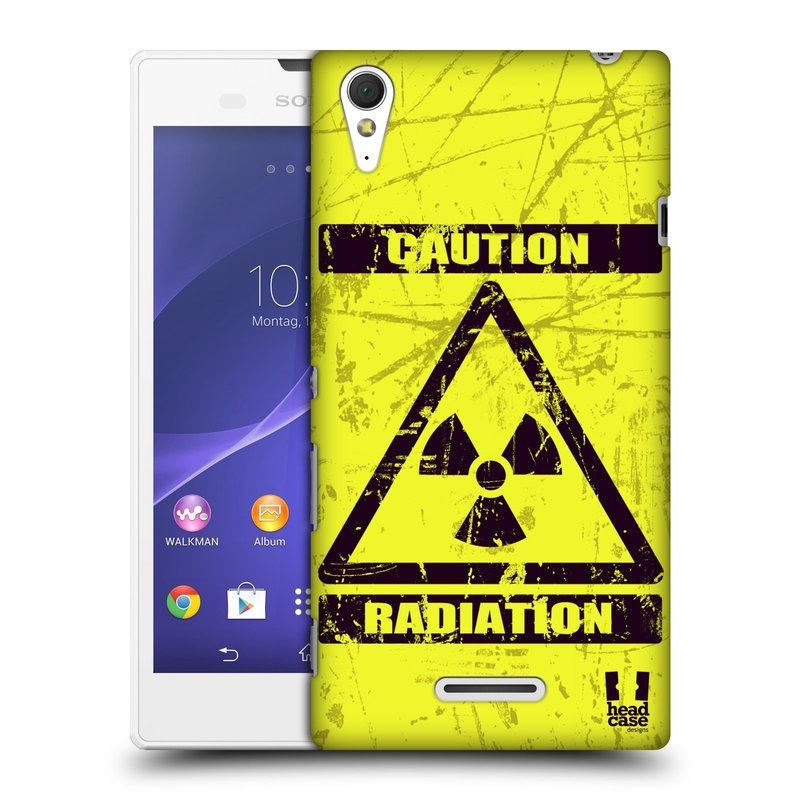 Plastové pouzdro na mobil Sony Xperia T3 D5103 HEAD CASE RADIACE (Kryt či obal na mobilní telefon Sony Xperia T3 )