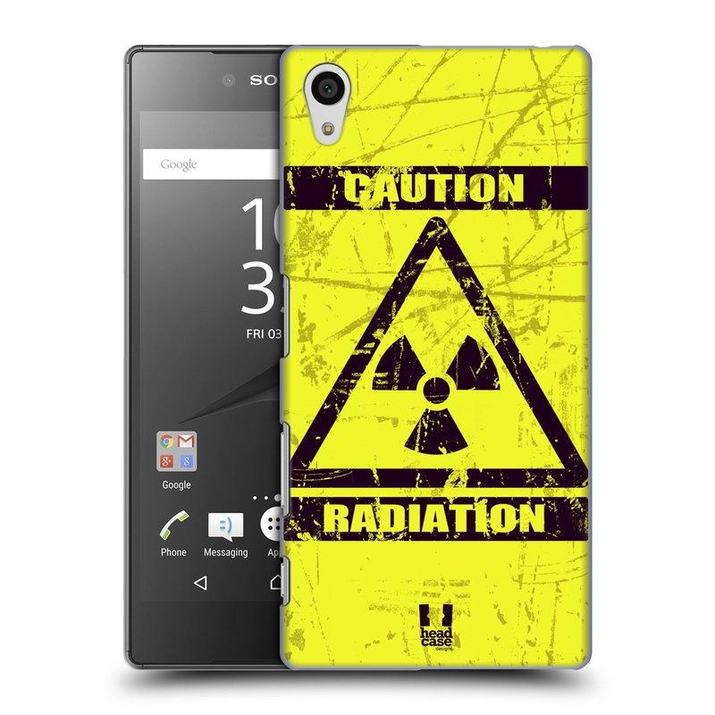 Plastové pouzdro na mobil Sony Xperia Z5 HEAD CASE RADIACE (Kryt či obal na mobilní telefon Sony Xperia Z5 E6653)