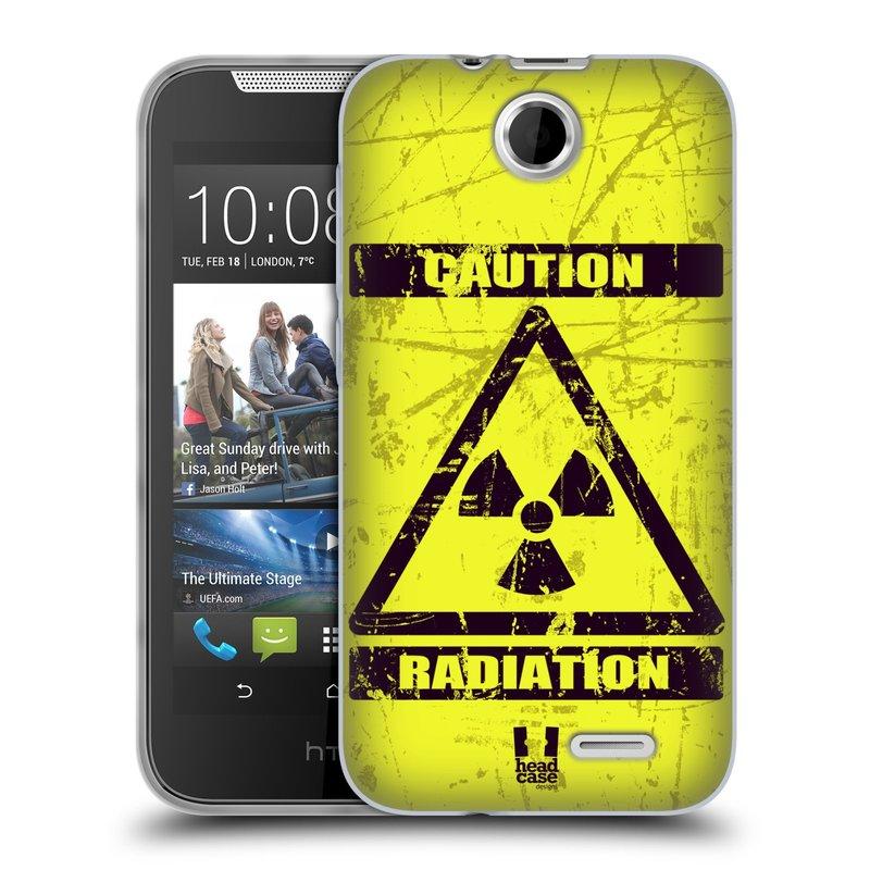 Silikonové pouzdro na mobil HTC Desire 310 HEAD CASE RADIACE (Silikonový kryt či obal na mobilní telefon HTC Desire 310)